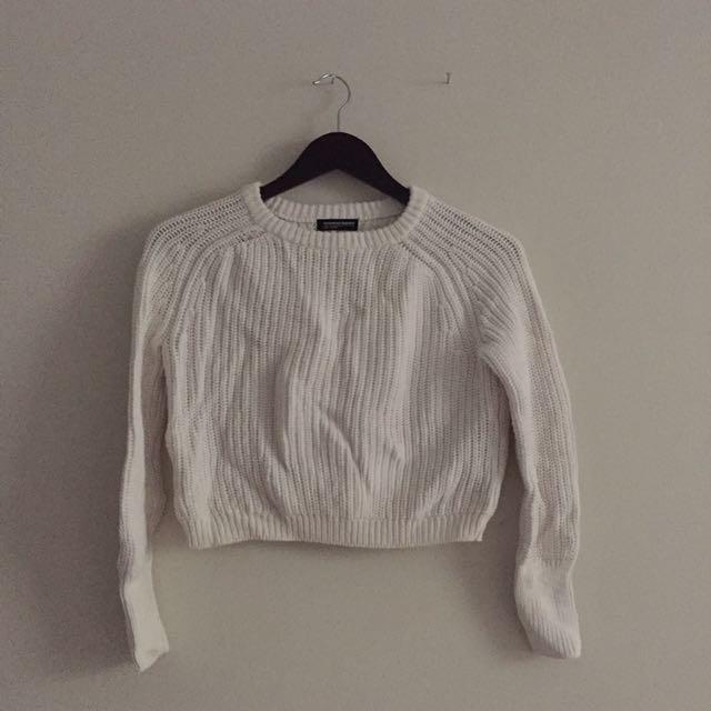 American Apparel Crop Knit