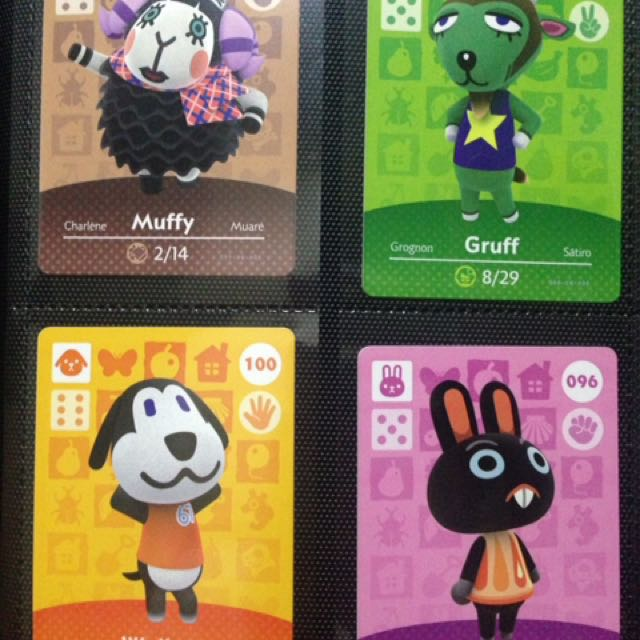Animal Crossing Series 1 Amiibo Cards