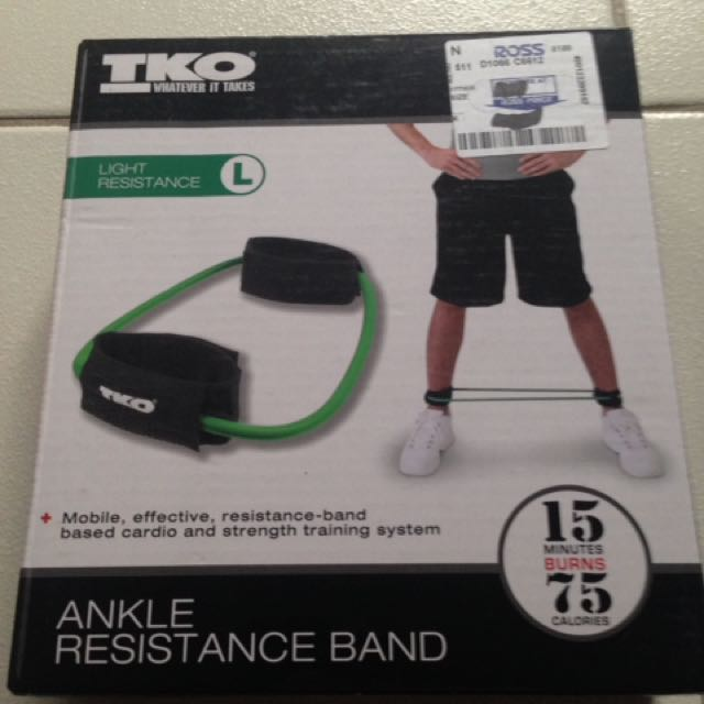 Ankle resistance band