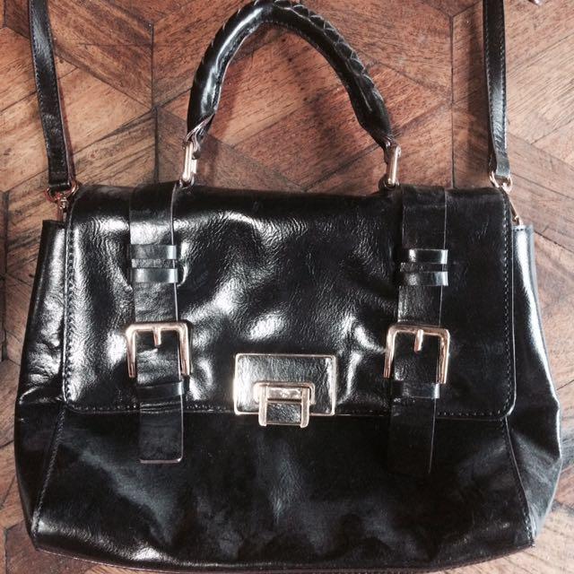 Antonio Melani Black Shoulder Bag