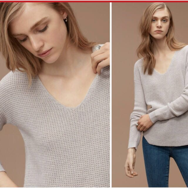 Aritzia Wilfred 100% Wool Sweater