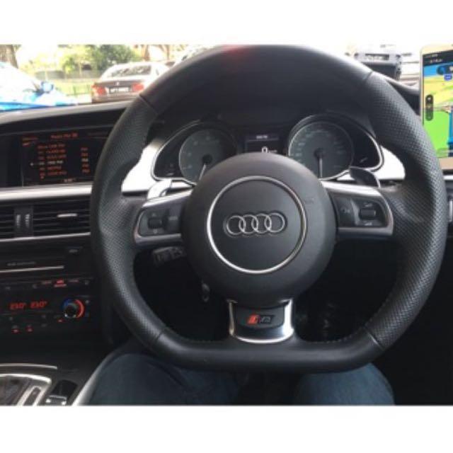 Audi R8 Flat Bottom Steering Wheel Car Accessories On Carousell