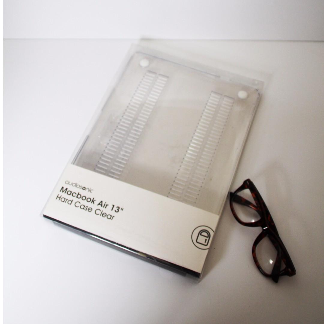 "Audio Sonic Macbook Air 13"" Hard case clear"