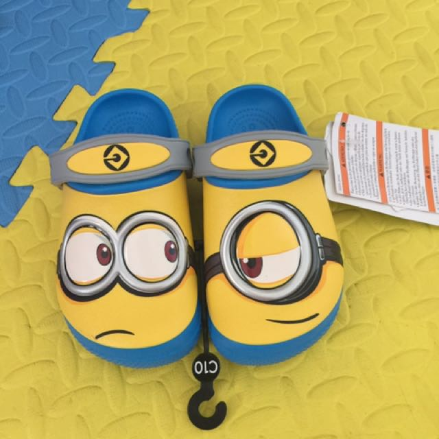 authentic crocs minions