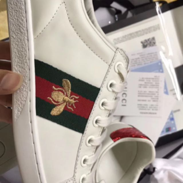 e75c07ce81fa AUTHENTIC GUCCI ACE SNEAKERS