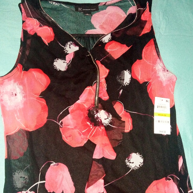 AUTHENTIC INC FLORAL TOP