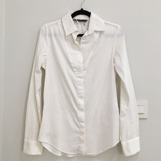 Authentic Kemeja Putih Zara