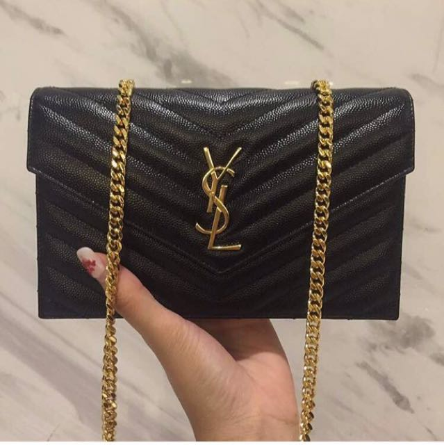 e4f50a815a4 AUTHENTiC Ysl sling bag, Luxury, Bags   Wallets on Carousell