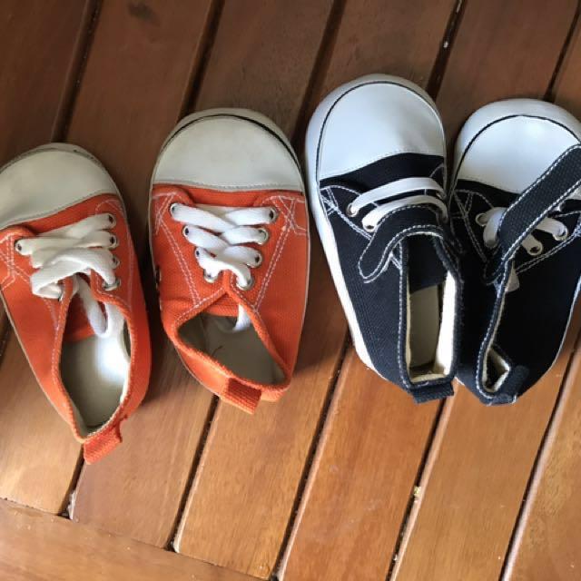#BabyFashionSale 2 pairs prewalker shoes