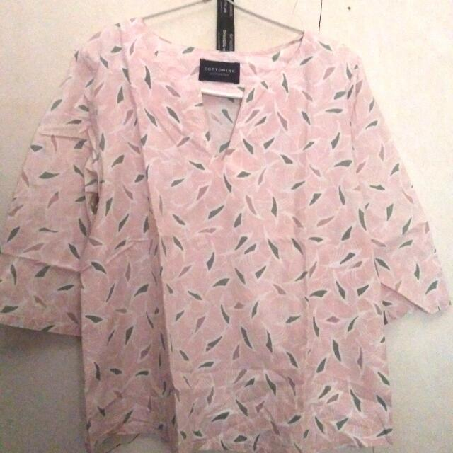 Blouse Dusty Pink Cottonink