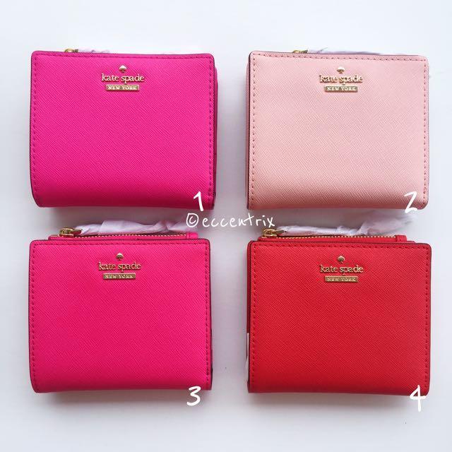 Bn Kate Spade Cameron Street Adalyn Small Wallet Luxury