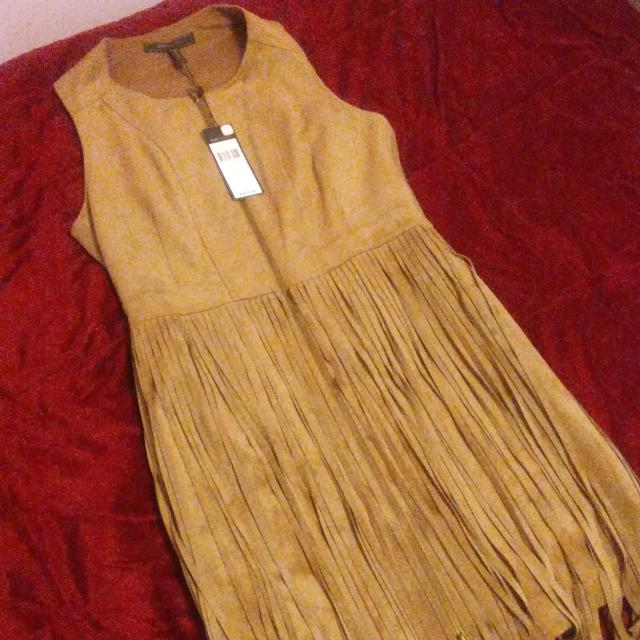 Brand New BCBG Zip Up Vest Dress