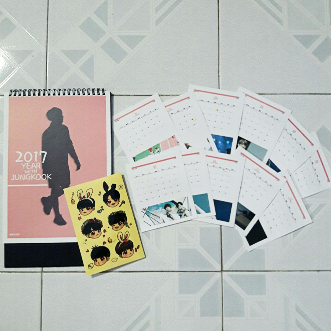 BTS Jungkook Fansite Items (Made in 1997)