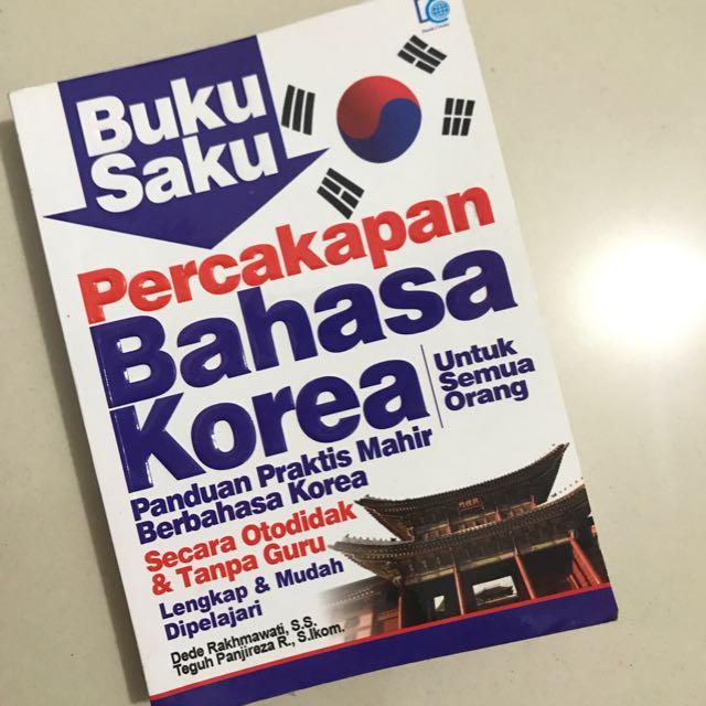 """""""Buku Saku: Percakapan Bahasa Korea"""""""