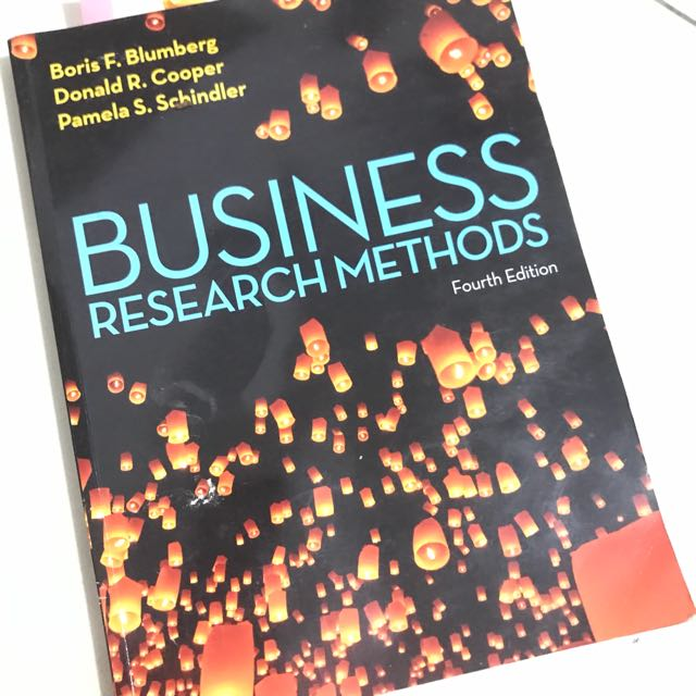 """Business Research Methods"" 4th edition"