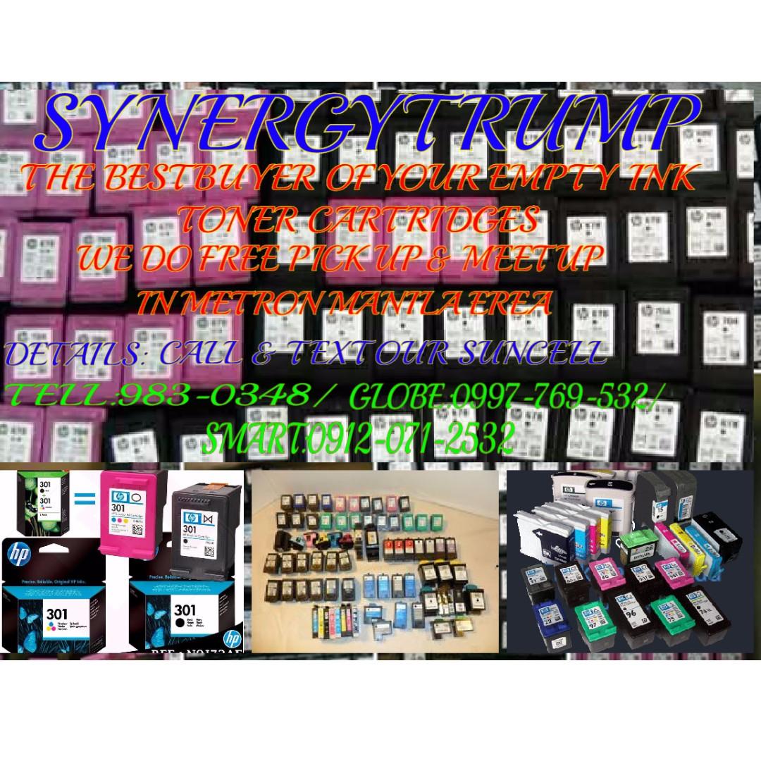buyer of empty ink toner cartridges