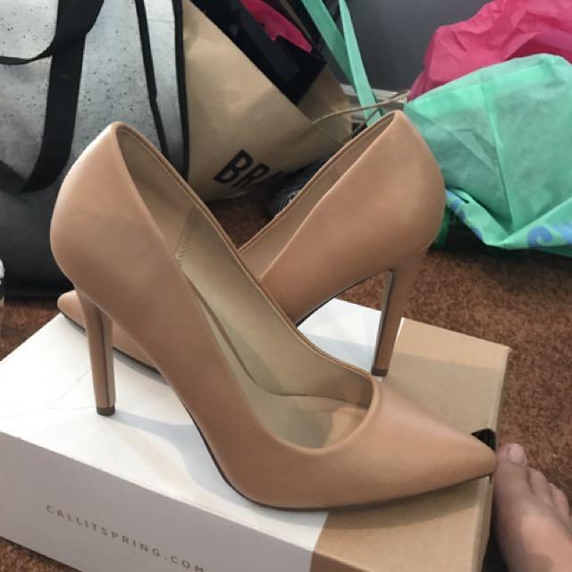 Call it spring nude heels