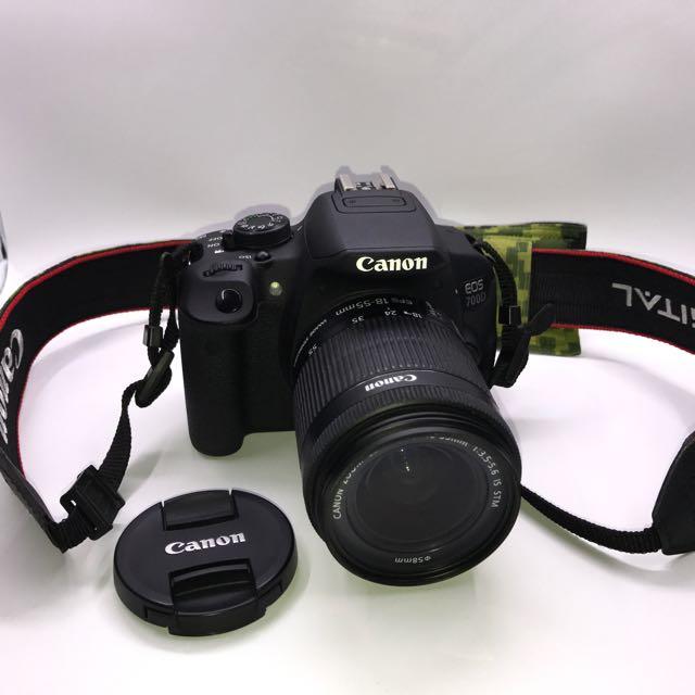 Canon EOS 700D 18MP CMOS Sensor EF-S 18-55mm IS STM Lens kit