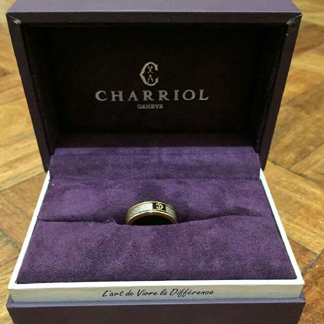 Charriol Forever Thin Ring, Authentic
