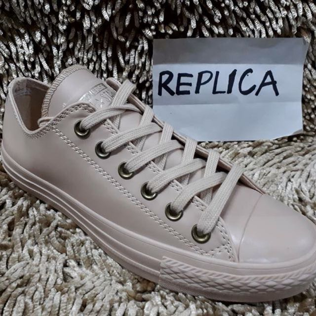 Converse Leather REPLICA, Women's Fashion, Shoes on Carousell