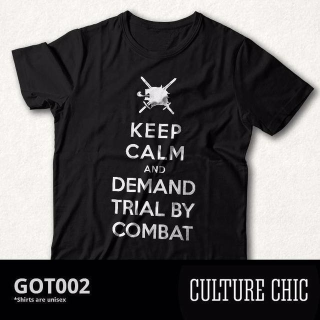 Culture Chic GoT KEEP CALM T-Shirt