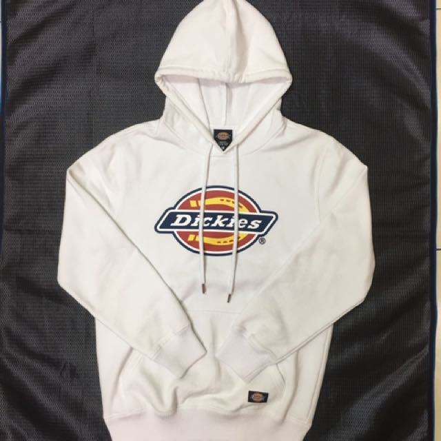 Dickies original logo 白色基本款帽T