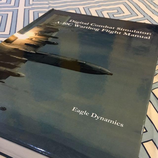 Digital Combat Simulator: A-10C Warthog Flight Manual, Books