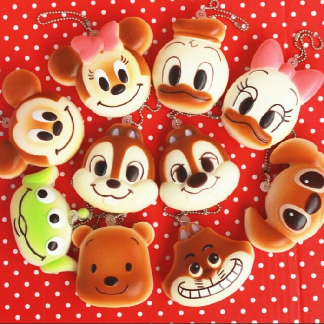 Disney Characters Squishy