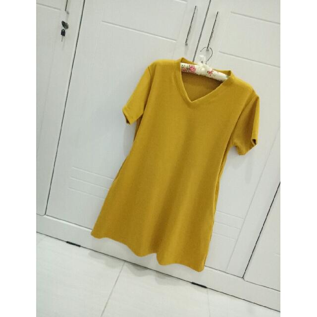 Dress Yellow Simple