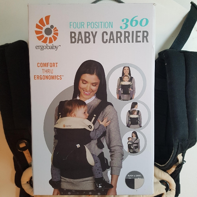 4f961997cf2 Ergobaby four position 360 baby carrier (Black Camel) on Carousell