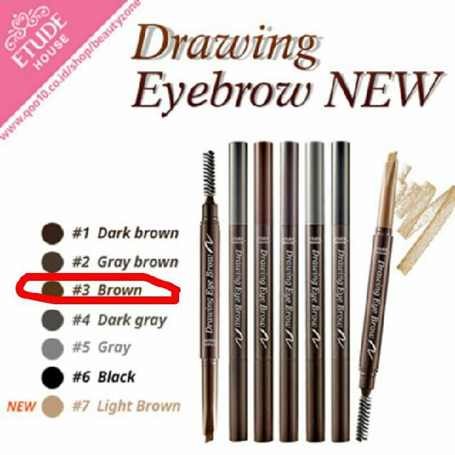Etude drawing eyebrow ORI
