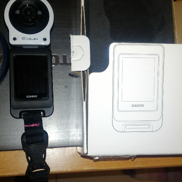 防水相機 EX-FR10(白色)