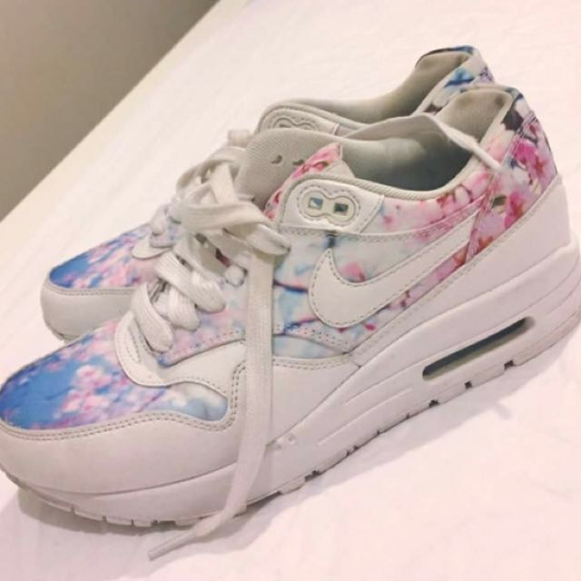 Floral Nikes