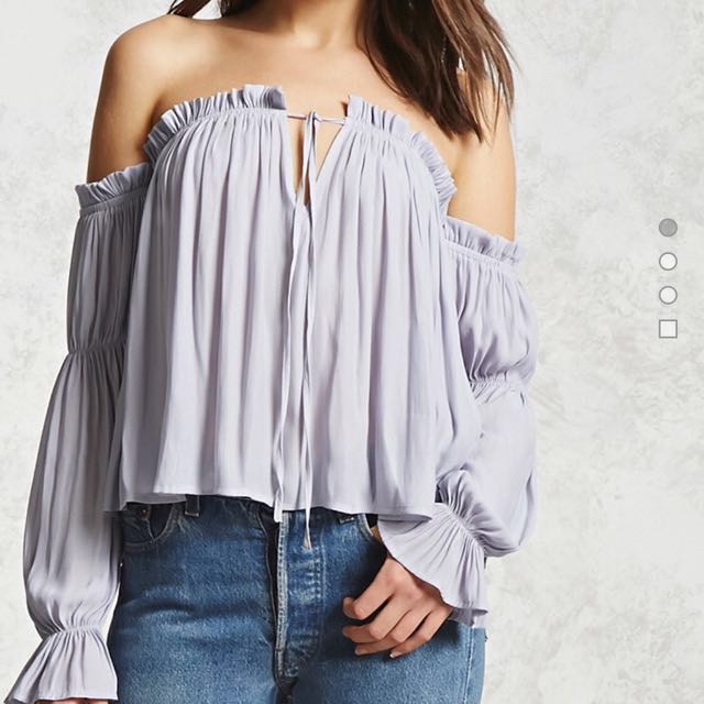 Forever 21 Ruffled off the shoulder top