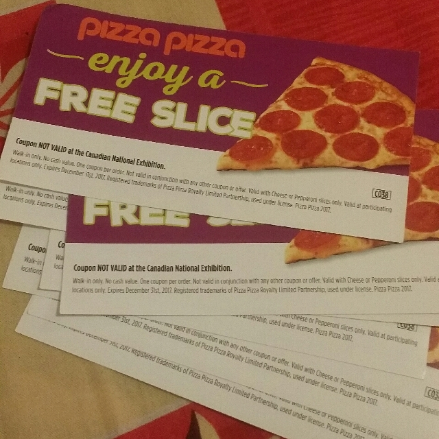 FREE PIZZA COUPINS