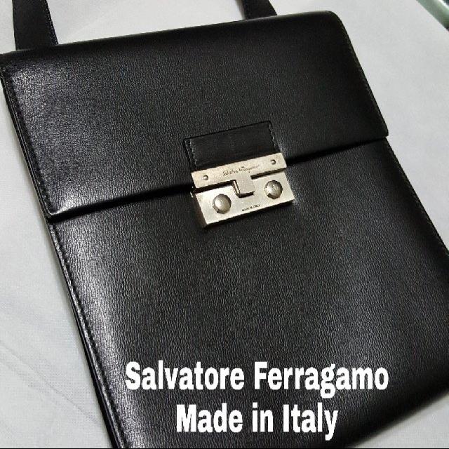 0f6c808c00 📮Free REGISTERED postage ❤PreLoved AUTHENTIC Black Salvatore ...