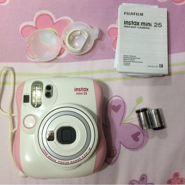 Fujitsu Pink Instax Mini 25