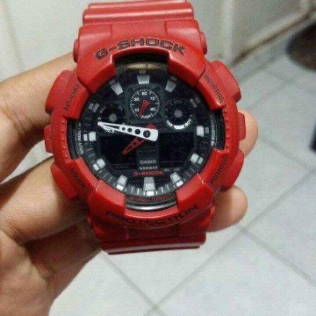 G Shock / Red