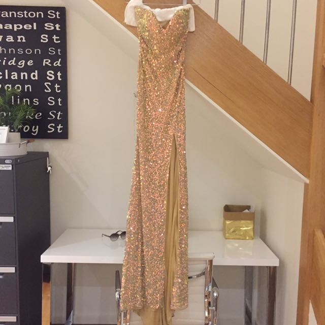 Gold dress limited edition