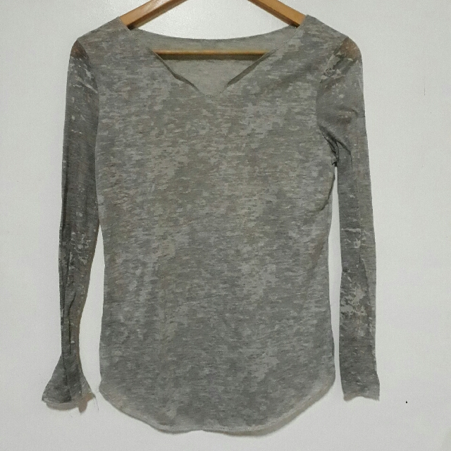 Gray Long Sleeves