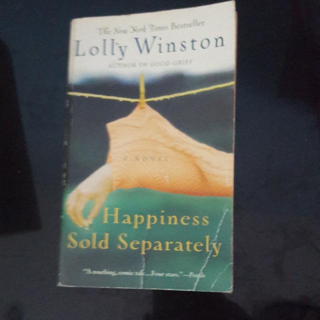 Happiness Sold Separately By Lolly Winston Peralatan Tulis Buku Di