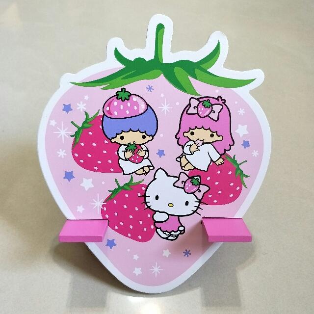 【全新品】三麗鷗Sanrio草莓季手機座