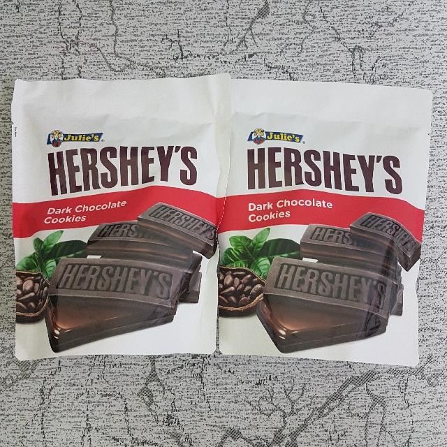 Hershey's Dark Chocolate Cookies