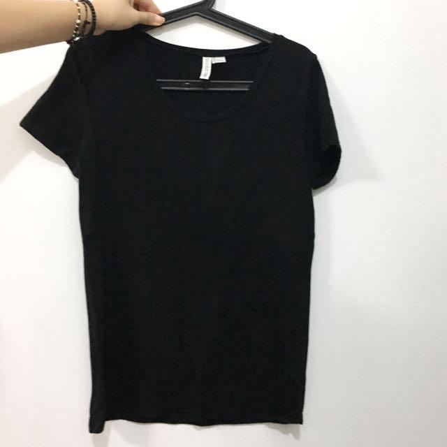 【二手九成新】H&M黑上衣