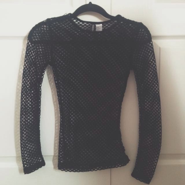 H&M Fishnet Shirt