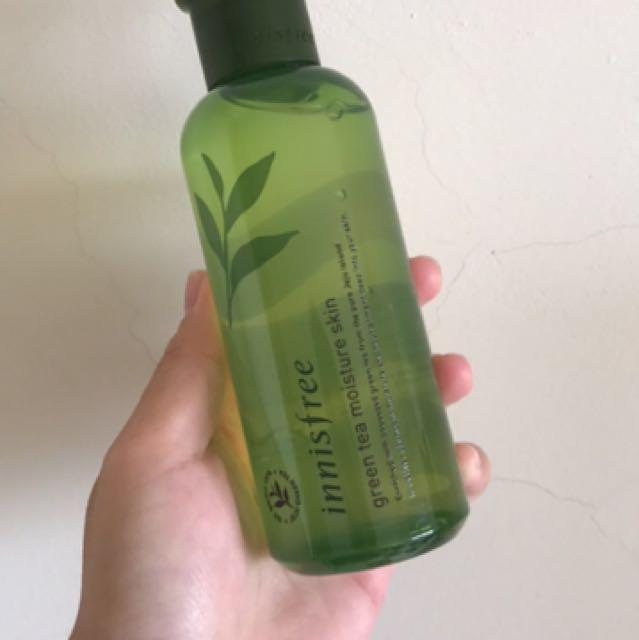 Innisfree 綠茶保濕化妝水