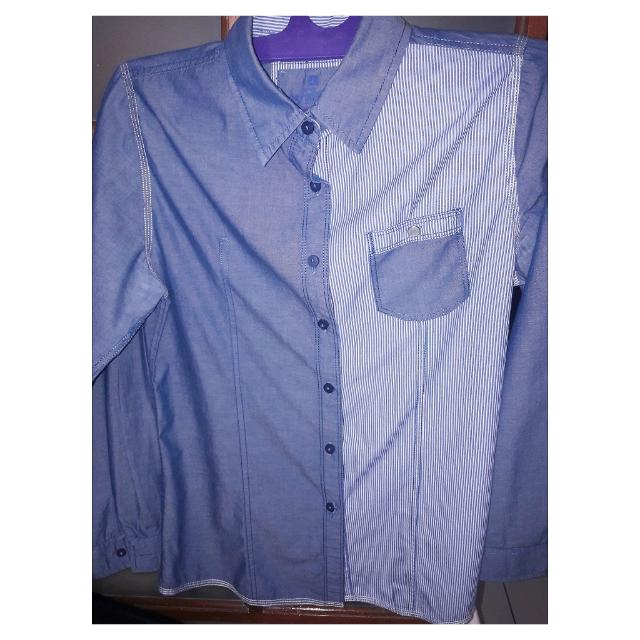 Kemeja Denim Cotton Shirt