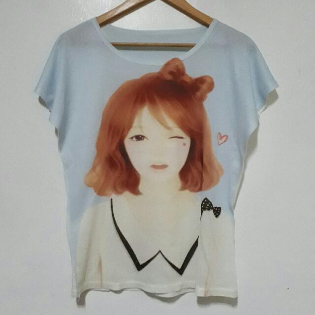 (Korean Inspired) Girl Tshirt