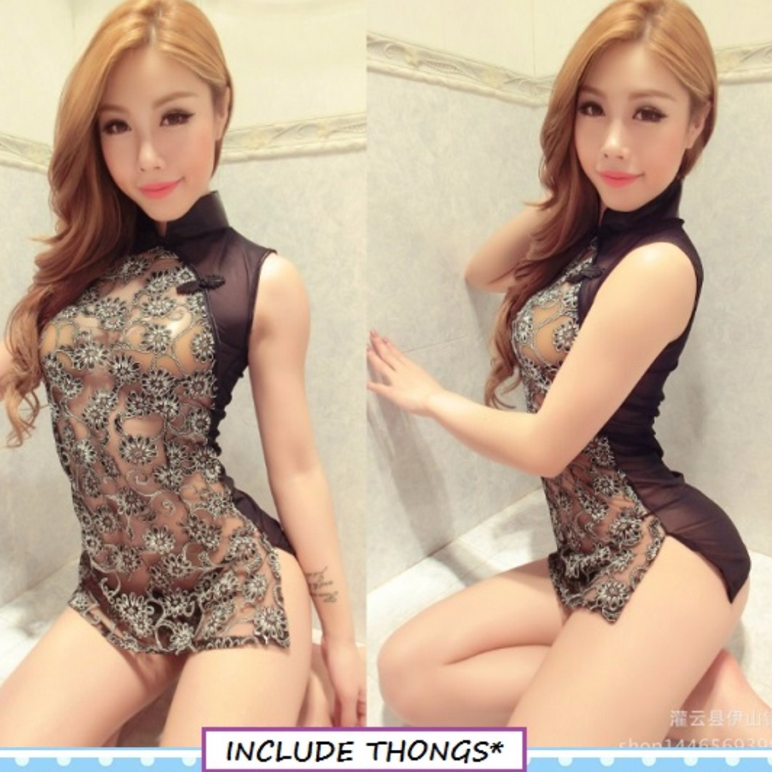 3ca8be60e6 Lingerie Dress Cheong Sum Lace, Women's Fashion, Clothes, Others on ...