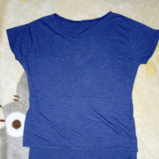 loose long tee shirt